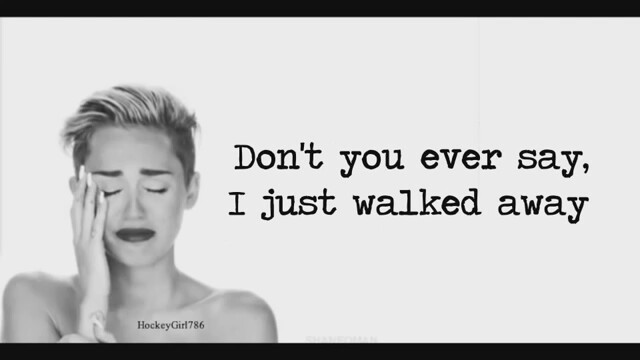 Miley Cyrus - Wrecking Ball Lyrics | İzlesene.com Video