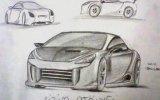 çizim  atölyesi  araba  çizimleri