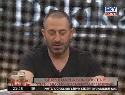 Cem Yılmaz 2013 Lezzet Durakları Mehmet Yaşin ve Vedat Milor