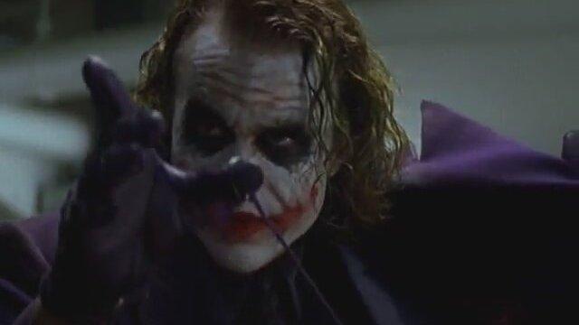 Joker - Kalem ve Sihir Sahnesi