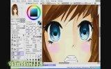 [ Speed Paint ] Anime Couple  Paint Tool Sai view on izlesene.com tube online.