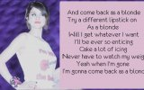 Selena Gomez - As a Blonde (HD) (With lyrics on screen)