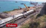 Yüksek Hızlı Tren Kaza Yaptı