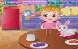 Hazel Bebek Tavşan Bakımı - Bebek Bakma Oyunları