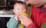 Bebeklerin Limonla İmtihanı