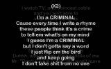 Eminem - Criminal [hq & Lyrics]