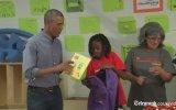 Kız Öğrenciden Obama'ya şaşırtan tepki