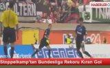 Stoppelkamp'tan Bundesliga Rekoru Kıran Gol