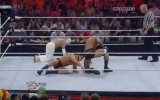 WWE RAW 04/4/2011 Randy Orton and Rey Mysterio vs Cody Rhodes and CM Punk