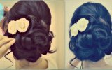 Easy Wedding Updo with Curls | Prom Hairstyles for Medium Long Hair